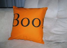 Boo! Decorative Pillow Cover