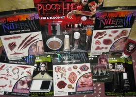 Blood Line Makeup and Tattoo Lot