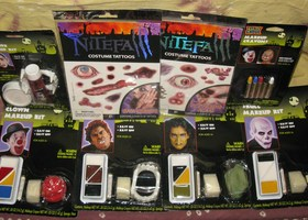 Monster Mix Makeup and Tattoo Lot