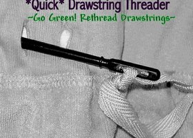 Quick Drawstring Threader