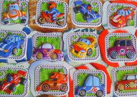 14 Cute Car Magnets Handmade