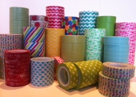 Pretty Washi Tape - 4 rolls or more