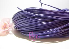 10 Yards of Lavender Genuine Leather Cord