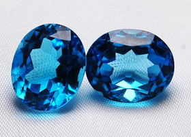 Huge 12 carat Gemstone Swiss Blue Topaz