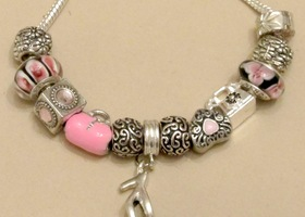 Pandora Bead Included - .925 Stamped Bracelet