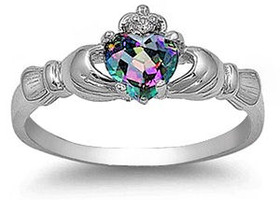 Choose Your Favorite Sterling Silver Claddagh Ring