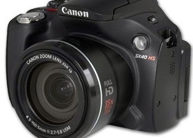 Canon PowerShot SX40 35x Zoom 12.1MP HS Digital Camera