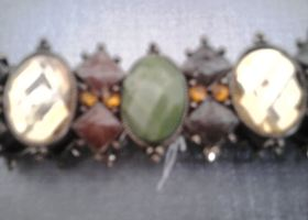 Beautiful Green/Bronze Bracelet