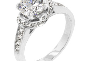 3.1 Carat Regal Engagement Ring Sz 7