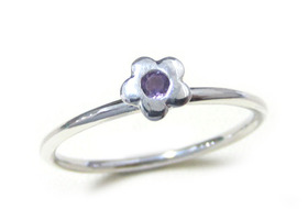Your Choices - Tiny Flower with Gemstone ✿