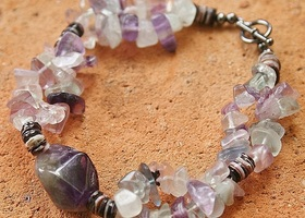 "Amethyst ""Great Spirit"" Bracelet"
