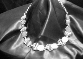 Stunning Silver Vintage Necklace