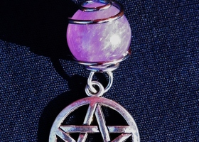 Amethyst Sphere Protection Charm