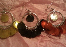 4 Pair Of Summer Earrings Lot