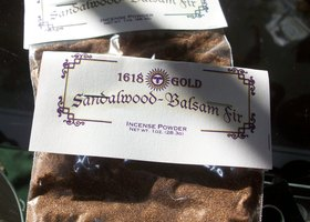 Sandlewood, Balsam Incense Powder
