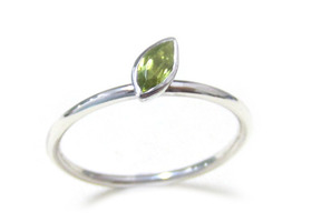 Your Choices-Marquise Shaped Gemstone Stacking Ring
