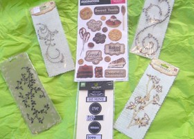 Scrapbook Supply Lot 2