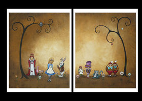 Alice in Wonderland Encore Print Set