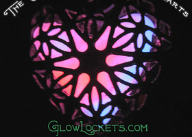 Passion Swirl Heart Glow Locket™ The Original