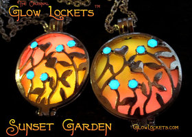 Sunset Garden Glow Locket™