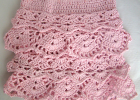 Crochet Ruffle Skirt PATTERN