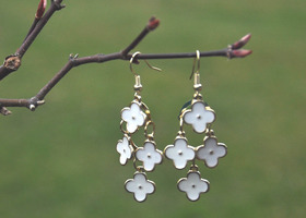 Spring Flowers Drop Earrings- Trend of the season!