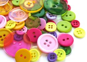 Buttons!  200 Spring Assortment