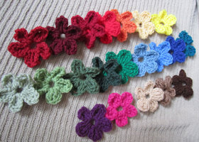 Small Flower Accents, 20 - FREE SHIPPING
