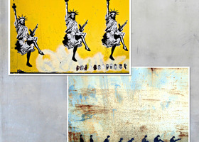 Two Graffiti Photographic Prints