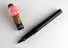 Ice Cream Cone Writing Pen