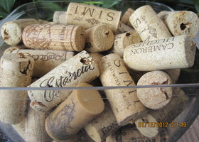 Wine Corks, 36 authentic corks, Crafty!