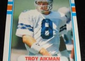 1989 Topps Troy Aikman Rookie Card