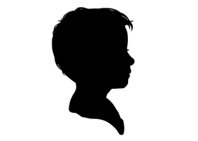 Traditional Custom Silhouette Portrait