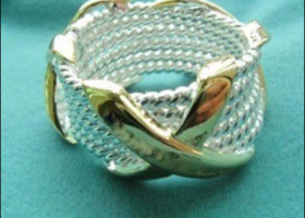 925 sterling silver ring ( Size 8 or 9)