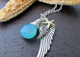 Guardian Angel Of the Sea Necklace