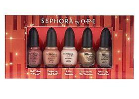 Sephora by OPI Merry & Bright 5-piece Holiday Nail Coll