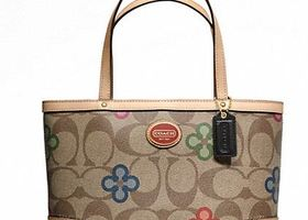 NWT 3 Piece Authentic Coach PEYTON Signature SET