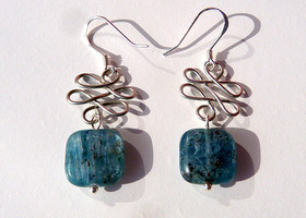 Kyanite Gemstone Earrings