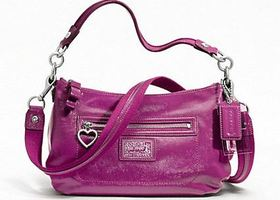 NWT COACH DAISY LIQUID GLOSS CROSSBODY