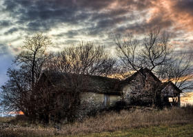 The Old Stone House - 8x10 or 8x12 Fine Art Print