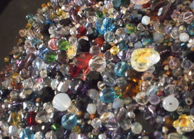 Gorgeous Crystal Mix Great Variety of Shapes,Sizes,Colors