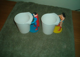 Super Hero Cups from Burger King - 1988
