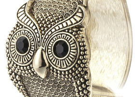 Adorable owl bracelet