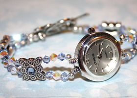 Swarovski Watch - Light Sapphire and Clear AB2