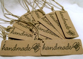 Handmade Tags for your Handmade products and goodies