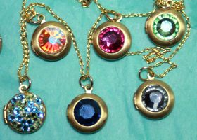 Bonus! Mini Crystal Locket