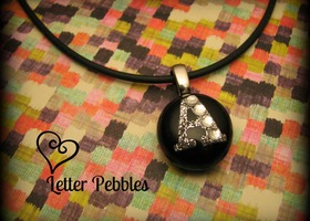 Letter Pebbles Custom Necklace
