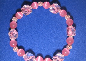 Breast Cancer Bracelet-100% goes to Avonwalk.org