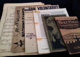 Only $1 Start!! Antique Music Books! **BONUSES**
