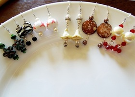 6 Pairs Handmade Earrings